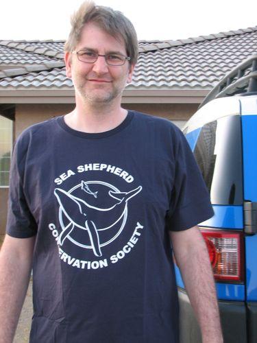 Sea shepherd shirt