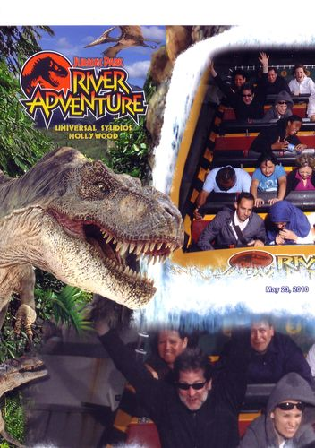 Jurassic Park Ride Pic